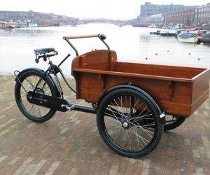 Classic Dutch Transport Trike