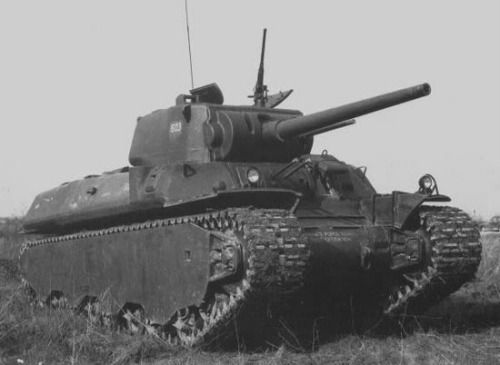 The Heavy Tank M6 was an American heavy tank designed during World War II. The tank was produced in small numbers and never saw combat.