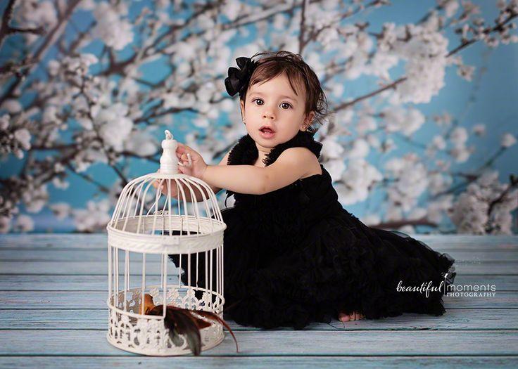 Beautiful Moments Photography - Stavanger Sandnes Ålgård Nyfødt Baby Fotograf #barn #coolbackdrop #cutegirl #birdinthe cage #blackdress