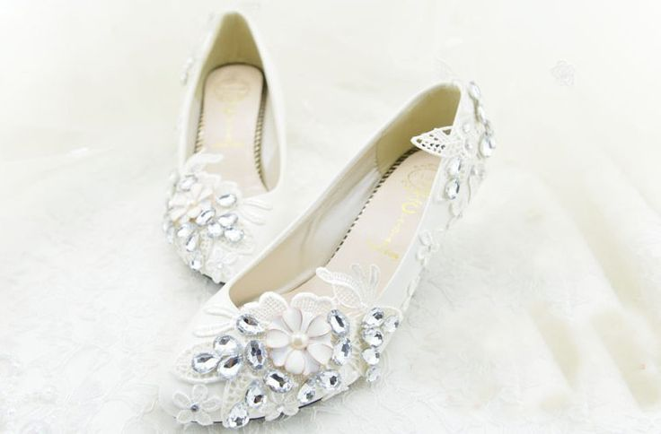 2016 Middle Heel Shoes for Flower Girl Princess Wedding Bridal Shoes Bridesmaid Shoes  Party Evening Shoes Free Shipping