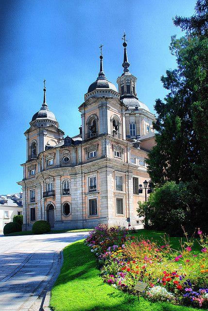 La Granja de San Ildefonso (Segovia). Palacio Real. #CastillayLeon #Spain