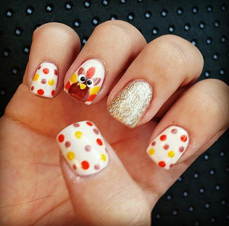 Crafty Thanksgiving Nail Ideas to Try – Crafty Morning – Nails