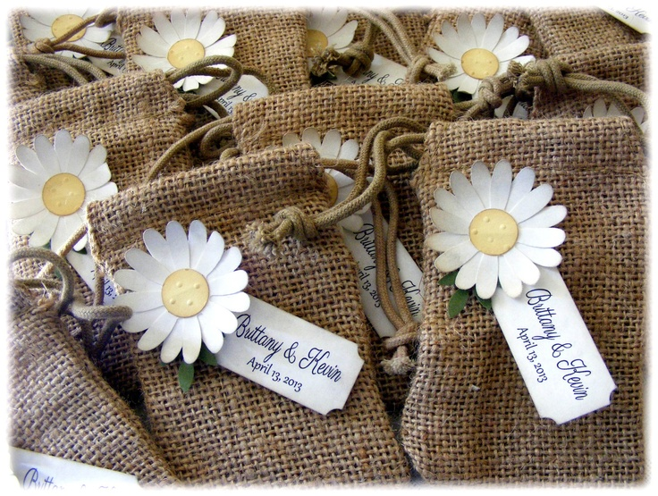 BURLAP+WEDDING+or+shower+favor+bags+with+a+by+BeforeYouSayIDo,+$20.00