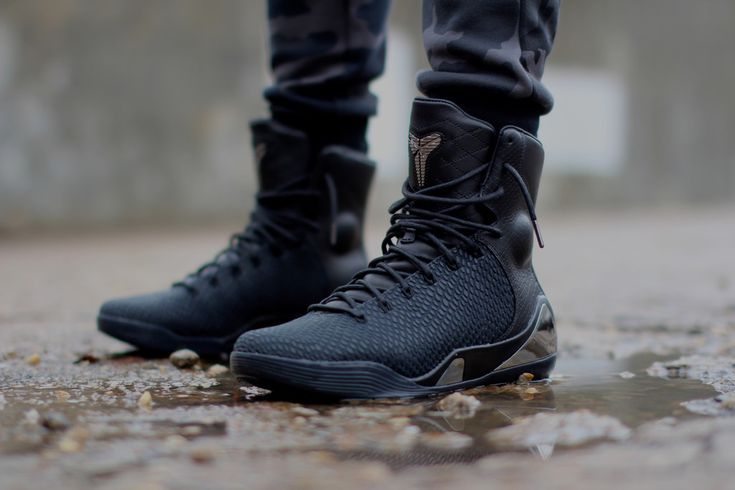 """The Nike Kobe 9 High KRM EXT """"Black Mamba"""" will retail for $275 and will release on December 31st."""