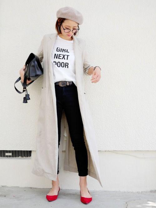 Deuxieme Classeのその他アウター「《予約》DUSTERリネンツイルコート」を使ったmikiのコーディネートです。WEARはモデル・俳優・ショップスタッフなどの着こなしをチェックできるファッションコーディネートサイトです。