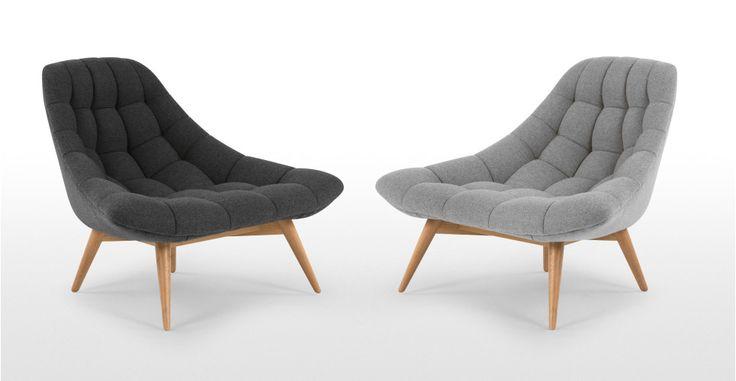 450.- Kolton Sessel, Grau | made.com