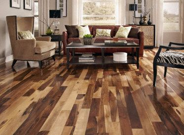 Brazilian Pecan is a stunner! Could definitely see my #5thWaLL decorated with this solid hardwood! #LumberLiquidators