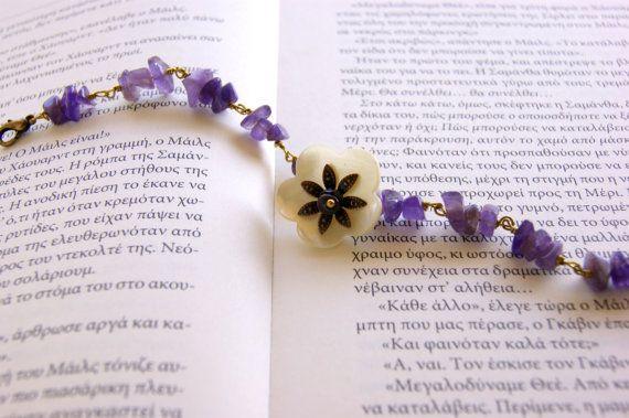 Amethist  Bracelet by RenatasArt on Etsy, €10.00