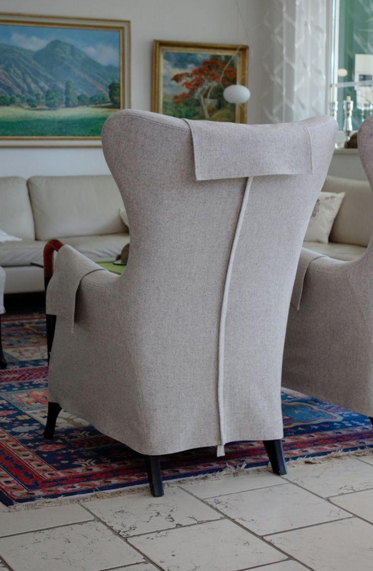 Sesselüberzug aus Loden Classic Seat cover Forro para sillón clásico