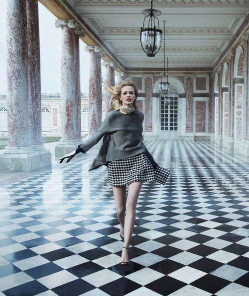 opaqueglitter: Dior 'Secret Garden 2' Versailles' Ad Campaign By Inez Vinoodh