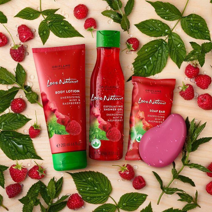"""4,153 kedvelés, 55 hozzászólás – Oriflame (@oriflame) Instagram-hozzászólása: """"Get energised with the summer-fresh scent of raspberry and mint! #Oriflame #❤️nature"""""""