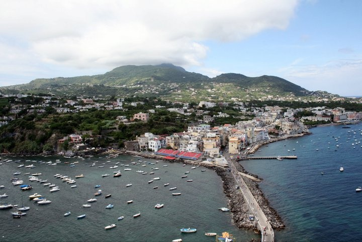The view from the castle, Ischia
