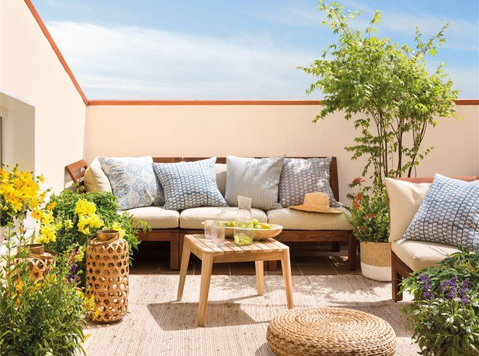 Terrazas El Mueble Comedores Al Aire Libre Salas De