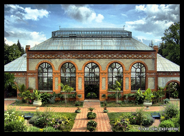 The Biltmore Conservatory on the Biltmore Estate