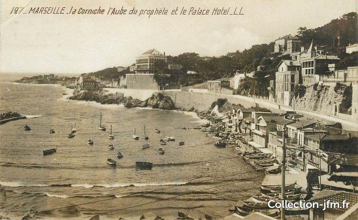 La Corniche, l'Anse du Prophète et le Palace Hôtel