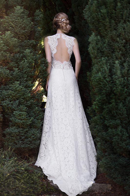 robe de mariée créateur Paris et Lyon - Céline