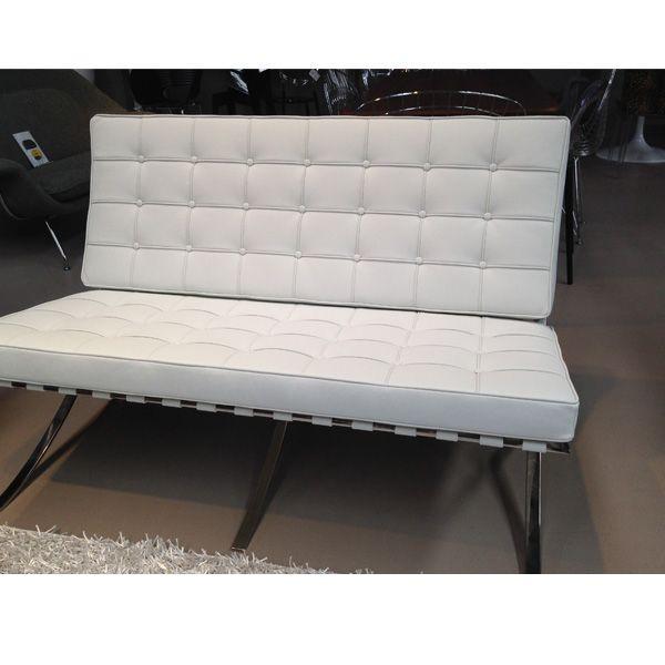 Barcelona Sofa Two Seater - Premium Replica Version