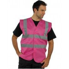 Pink High Vis Vest