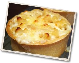 The DIY Scotch Pie Company - Macaroni and Cheese Pie (Mac & Cheese) - so apparently this is a THING that people MAKE.