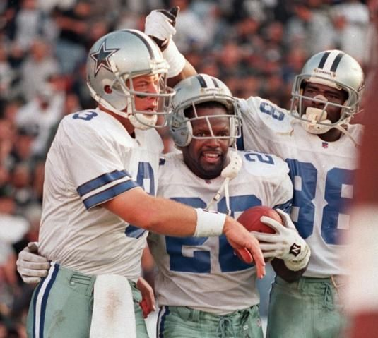 My favorite players-Troy Aikman and Emmit Smith