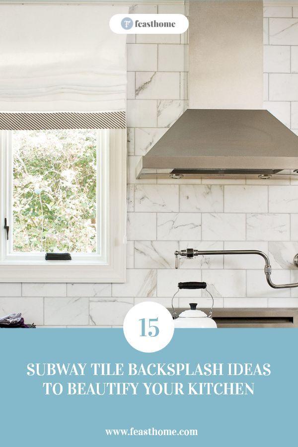 15 Subway Tile Backsplash Ideas To Beautify Your Kitchen Subway Tile Backsplash Tile Backsplash Green Subway Tile