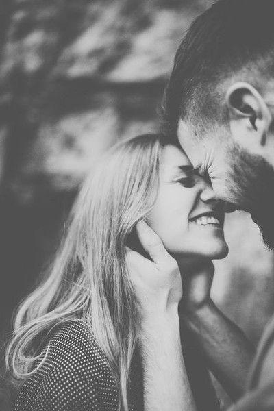 Eskimo Kiss Snap - Engagement Photo Ideas That Won't Make You Cringe - Photos