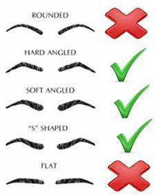 3 Perfect Eyebrow Shape Ideas For Round Face Shapes