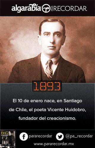 1893 Vicente Huidobro