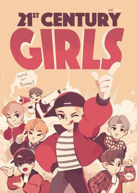 21 century girl poster- So cute ^^