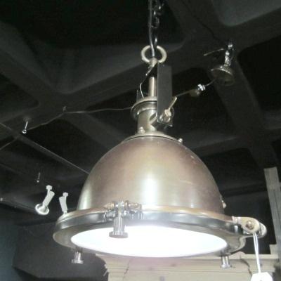 industrial look - metal Portside Pendant