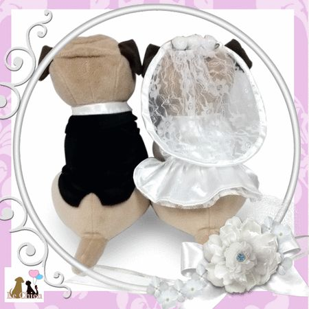 Wedding Doll Pug