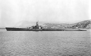 USS Tang (SS-306)-Tang was sunk during the last engagement by a circular run of her final torpedo,[9] going down in 180 ft (55 m) of water.78 men were lost, and the nine survivors were subsequently picked up by a Japanese frigate and taken prisoner. This was the only known occasion on which a Momsen lung was used to escape a sunken submarine.