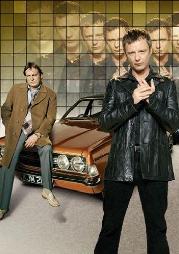 Life on Mars (BBC TV, 2006). Time-travel/cop drama set in 1973 - fags, beige and wide collars...