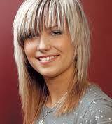 Výsledek obrázku pro polodlouhé vlasy střihy