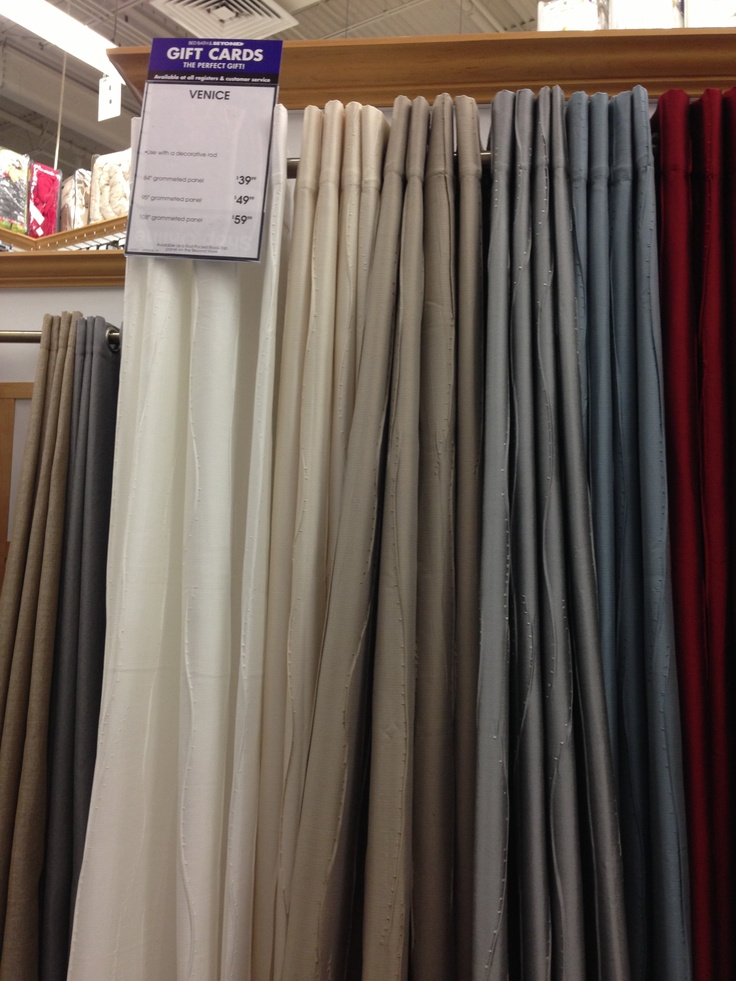 Curtains-bed bath beyond | Family Room | Pinterest | Bath