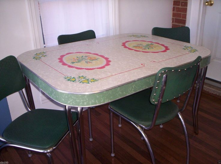 Daffodil Enamel Kitchen Table