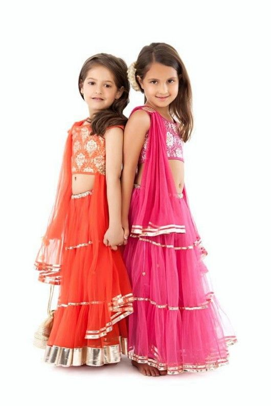 girls in beautiful lehengas