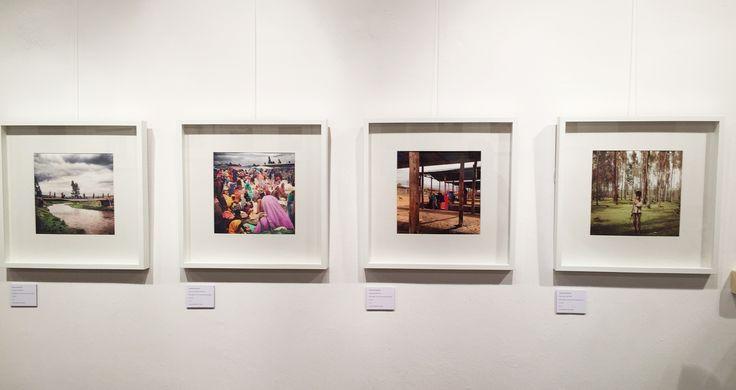 Le immagini dell'allestimento della mostra personale di Francesco Cianciotta, NAGA' NAGA', Selam Peace, realizzata grazie a Perigeo NGO con il Patrocinio del Comune di Milano Consiglio di Zona 1, presso ChiAmaMilano. Photo Credits: Glenda Cinquegrana Art Consulting.