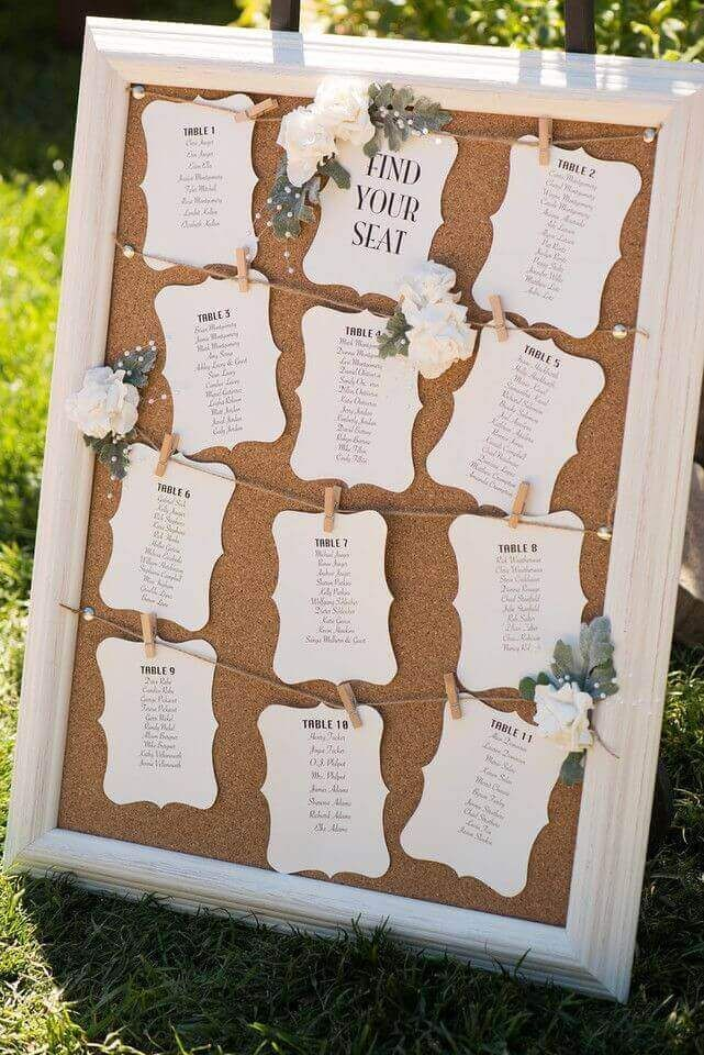 79 seating chart wedding ideas to personalize your wedding to the tiniest detail