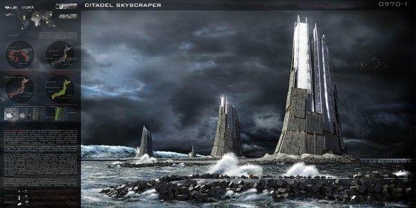 Japan's Sea Citadel defences