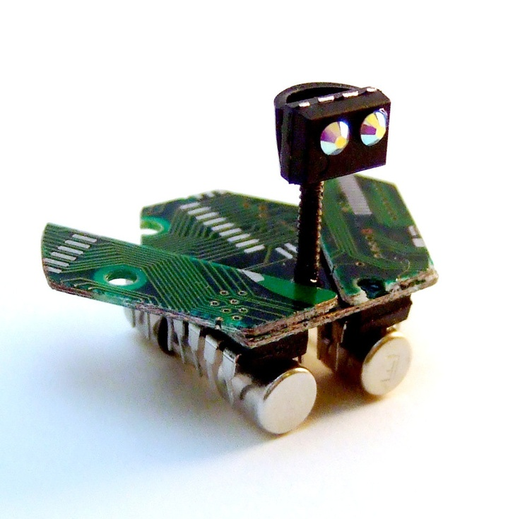 Miniature Collectible Circuit Board Mars Rover -- Recycled ...