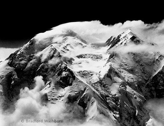 Bradford Washburn, Tremendous Southerly Windstorm Sweeps Mt. McKinley's Twin Peaks - June 6, 1942.