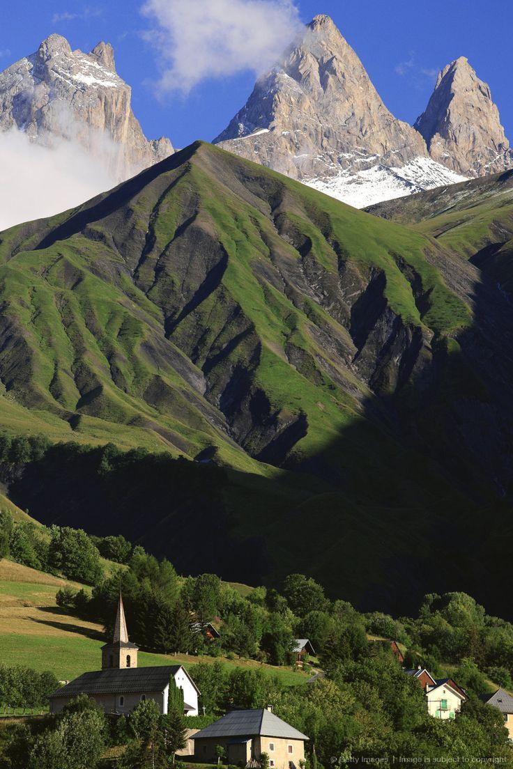 """dans les Alpes, en Savoie """"les Aiguilles d'Arves"""""""