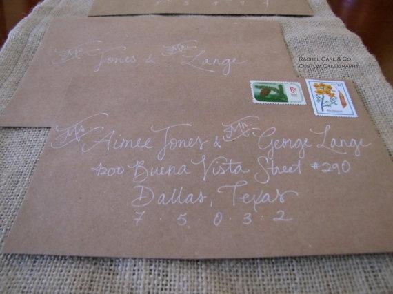294 Best Images About Hand Lettered Envelopes On Pinterest