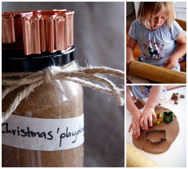 Cooking with kids: 'Christmas' playdough | Village VoicesVillage Voices