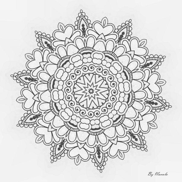 Mes Mandalas A Colorier Colorier Mandalas Mes Mandala Malvorlagen Malvorlagen Mandala Ausmalen