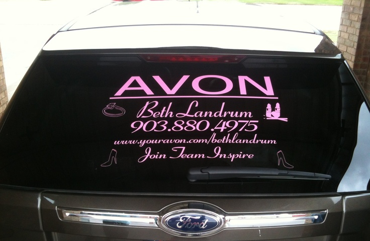 Vehicle decals to promote your business or interest starting at 25