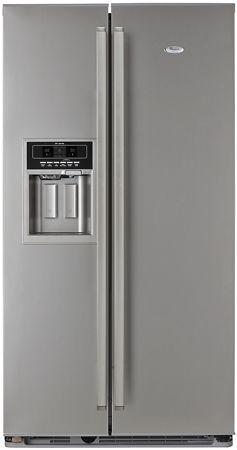 Whirlpool Freestanding side by side Fridge Freezer. WSF5552