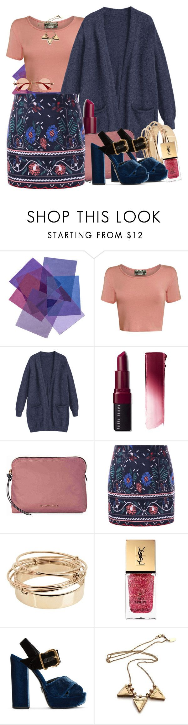 """""""rosa saturo"""" by spiceandsugar ❤ liked on Polyvore featuring Pilot, Bobbi Brown Cosmetics, Burberry, Valentino, Yves Saint Laurent, Prada and Gucci"""