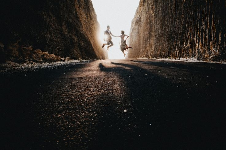 Jumping for joy over this sweet couple shot captured by Terralogical